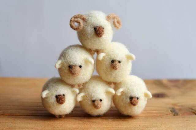 1位 羊毛フェルトアドバイザー