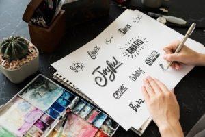 1位:カリグラフィーデザイナー