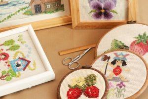 4位 日本手芸普及協会の刺繍師範資格