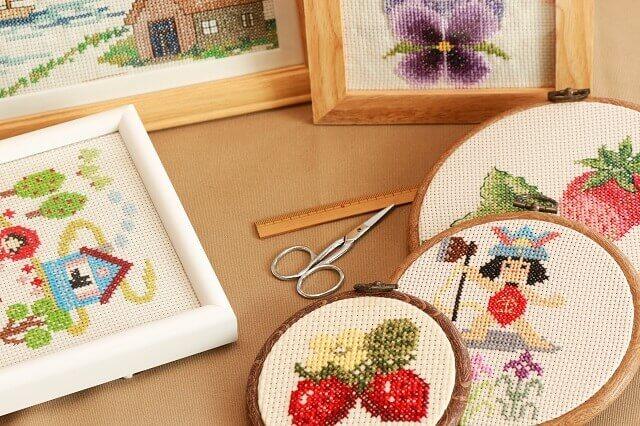 日本手芸普及協会の刺繍師範資格
